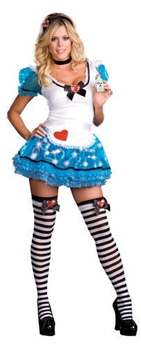 Sexy Liteup Alice in Wonderland Costume