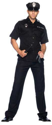 Mens Police Costume