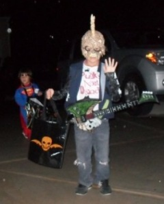 Punk Creep Gothic Kids Costume