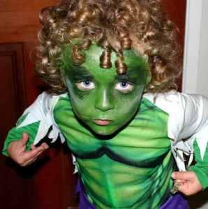 Hulk Kids Costume