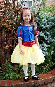 Kids Snow White Costume