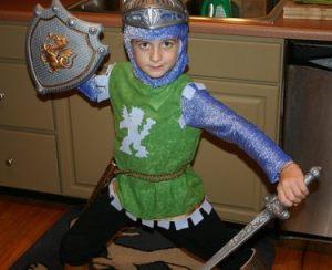 Kids-knight-costume