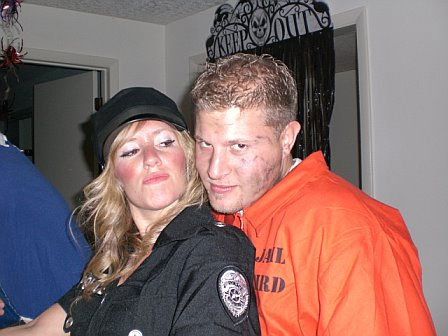 Cop and Convict Couples Costumes