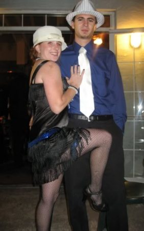 Flapper and Gangster Costume