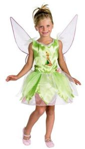 Girls Tinkerbell Costume