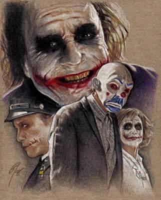 Joker Costume Drawing