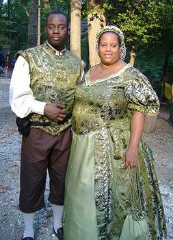 Plus Size Renaissance Couples Costumes