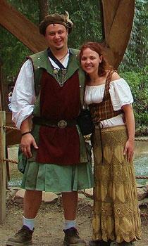 Renaissance Couples Costumes