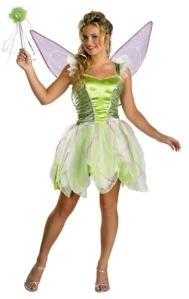 Women's Tinkerbell Costume