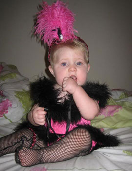 Baby Flapper Costume