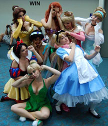 Funny Disney Princess Costumes