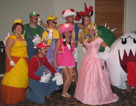 Group Mario and Luigi Costumes
