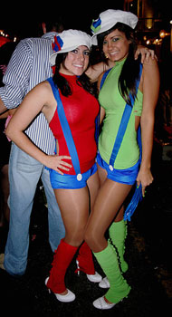 Mario Brothers Sexy Costumes