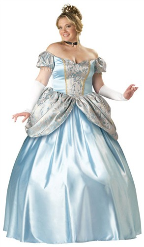 Plus Size Princess Costume