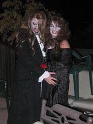 Scary Vampire Costume Couple