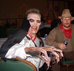 Terrifying Vampire Costume