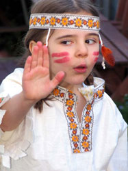 Girls Indian Costume