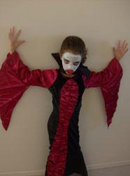 Girls Scary Vampire Costume