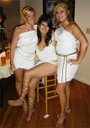 Sexy Greek Goddess Costumes