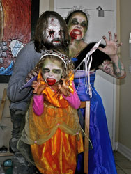Scary Family Costumes