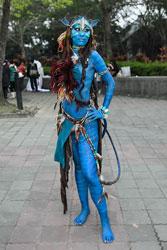 Sexy Avatar Costume