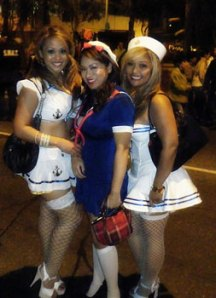 Sexy Sailor Girl Costumes