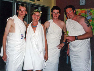 How To Make A Guy Toga toga costumes |...