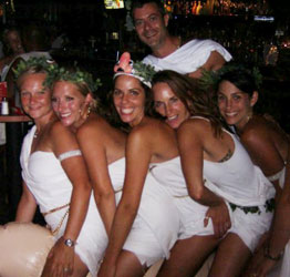 Beautiful Sexy Toga Party Costumes