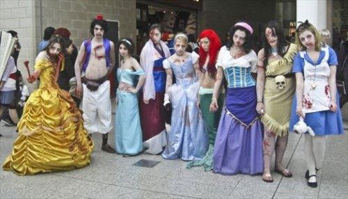 Zombie Disney Costumes