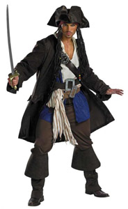 Captain Jack Sparrow Costume from Mr. Costumes